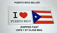 Puerto Rico Flag Kitchen Fridge Magnet Spanish Recipe Food Cooking Decoration Y