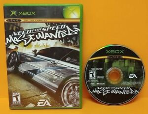 Need-For-Speed-Most-Wanted-Racing-Microsoft-XBOX-OG-Rare-Game-Tested