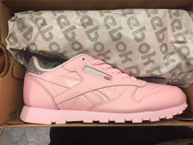 Junior reebok Classic Leather MTC luster rosadodo bd5898 nuevo nuevo nuevo gr 35 zapatillas zapatos  conveniente