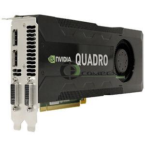 NVIDIA Quadro K5000 4GB GDDR5 PCIe 2.0 x16 Dual DP...
