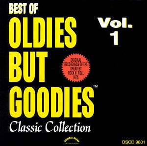 Oldies but Goodies, Vol  1 [2000] by Various Artists (CD, Jun-2001,  Original Sound Entertainment)