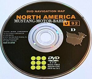 Image Is Loading Oem Toyota Nav Dvd 86271 73012 North America