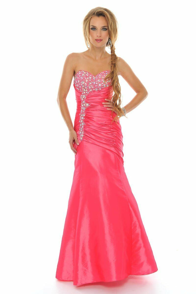 NWT PINK PRECIOUS sz 2 2 2 FORMAL PROM DRESS HOMECOMING GOWN  P46595  450 original  39a90e
