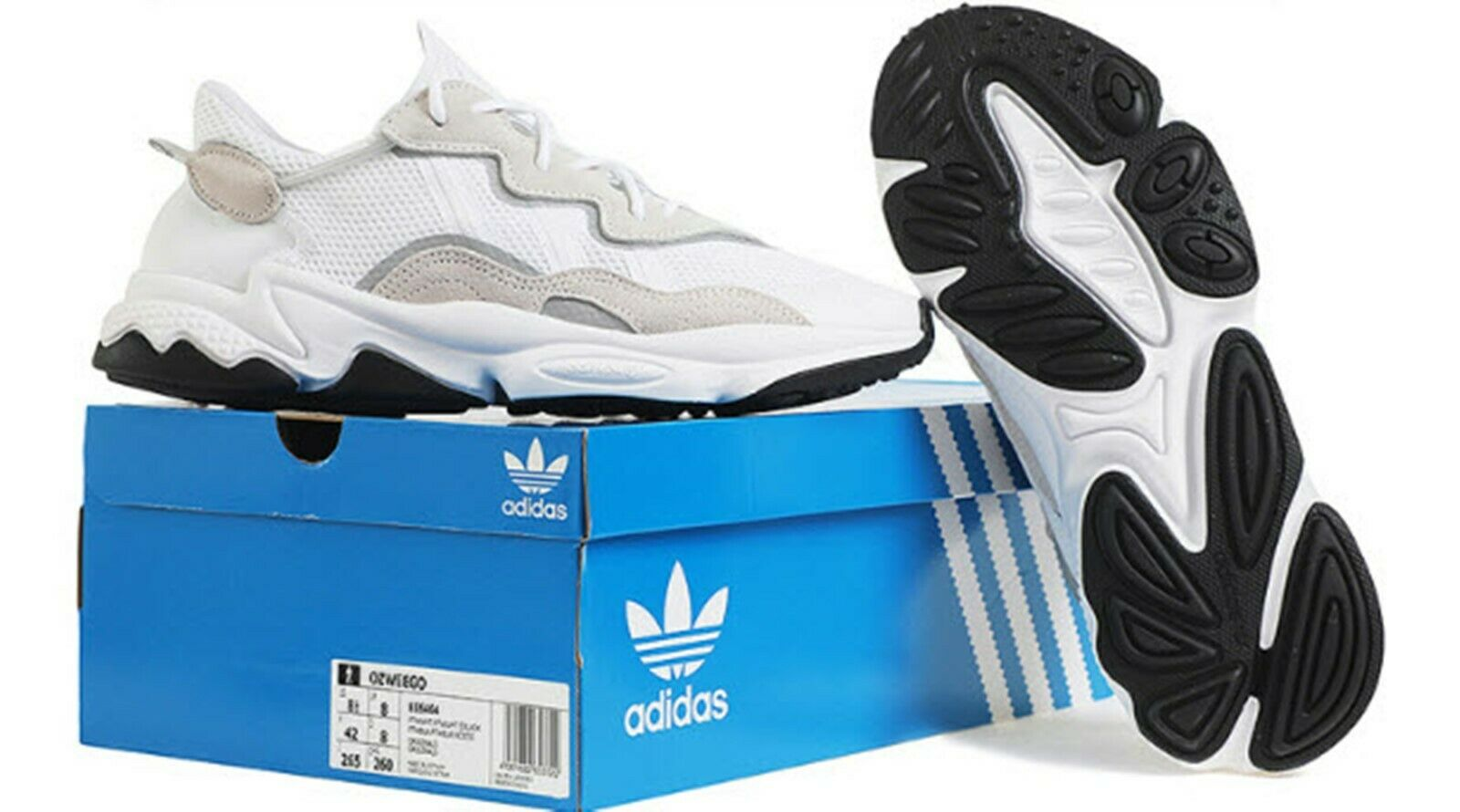 Adidas Men OZWEAGO  Scarpe Running bianca Training scarpe da ginnastica GYM Casual scarpe EE6464  risparmia fino al 70%