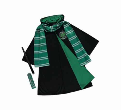 George Harry Potter Wizard Robes Costume Outfit Fancy Dress World Book Day