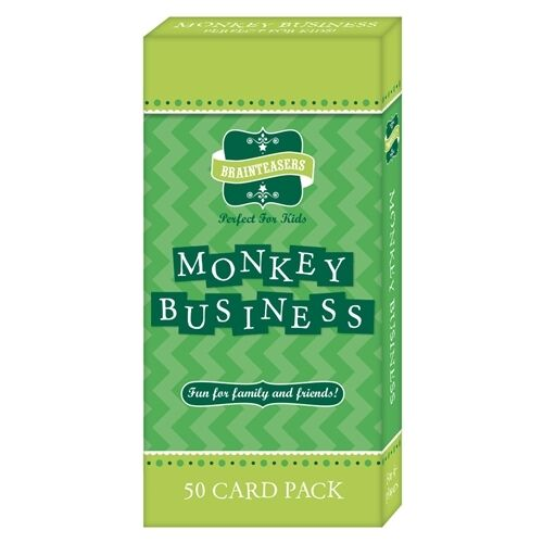 Brainteasers 2015 Monkey Business Quiz