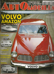 AUTOMOBILIA-93-PANHARD-CD-VOLVO-AMAZON-WOLSELEY-1946-1957-OPEL-KAD-FORD-CORCEL