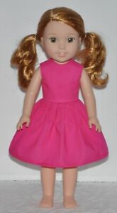 """Hot Pink T-Shirt Doll Clothes fits American Girl 14.5/"""" Wellie Wisher"""