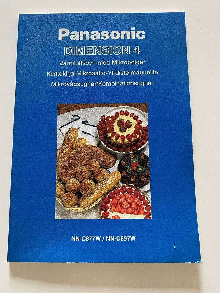 Mikroovn, Panasonic Dimension 4, b: 53 d: 50 h: 33