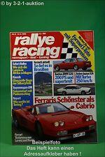Rallye Racing 8/88 Ferrari BMW 325i Arden Jaguar XJ6
