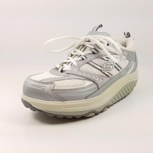 Werkschoenen Slagerij.Schoon Shape Wit Werkschoenen Damesschoenen Ups Skechers Zilver 0p8nowk
