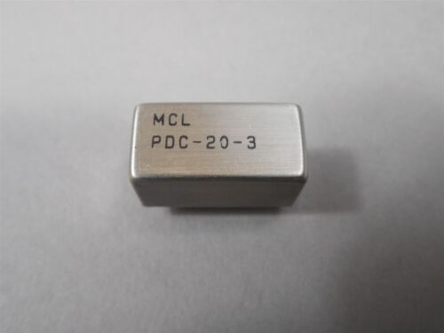 MCL PDC-20-3 Directional Couplers 0.2 to 250 MHz 50ohms NEW 3