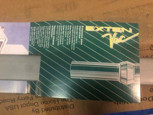 """Exten Vac Vacuum Cleaner Attachment Hose Extender 36/"""" Reach"""