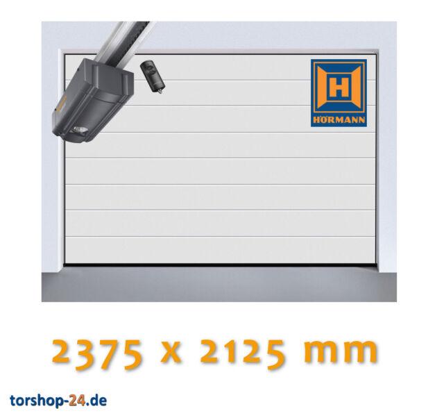 Hörmann Sektionaltor LPU 42 2375 x 2125 mm Garagentor Garagentorantrieb Rolltor