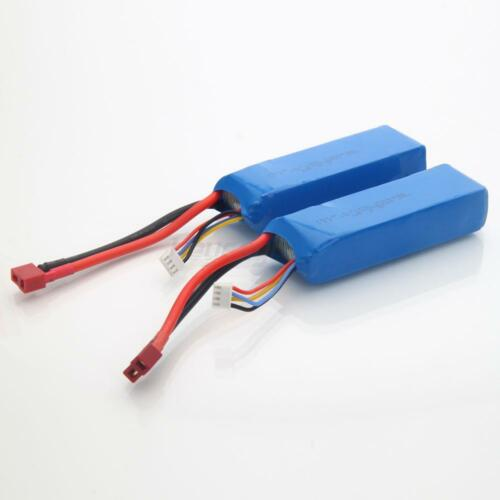 2pcs Feilun FT012 RC Racing Boat Spare Parts 11.1V 2200mah Battery FT012-17B