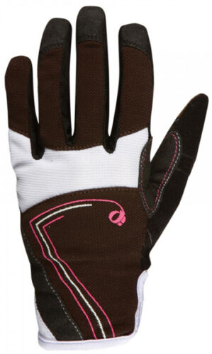 Pearl Izumi Women's Divide Full Finger Bike Gloves CoffeePink Punch Medium