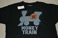 Monopoly Money Train Ladies Ride Free T-shirt Men's Size Medium W/ Tag