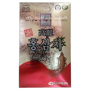 il hwa korean roter ginseng extrakt tee 100p x 3g ebay. Black Bedroom Furniture Sets. Home Design Ideas