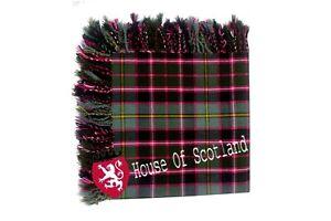 Hs Écossais Kilt Mouche Plaid Mcpherson écossais Acrylique Laine 122cm X 122cm Utilisation Durable