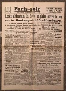 N175-La-Une-Du-Journal-Paris-soir-5-Juillet-1940