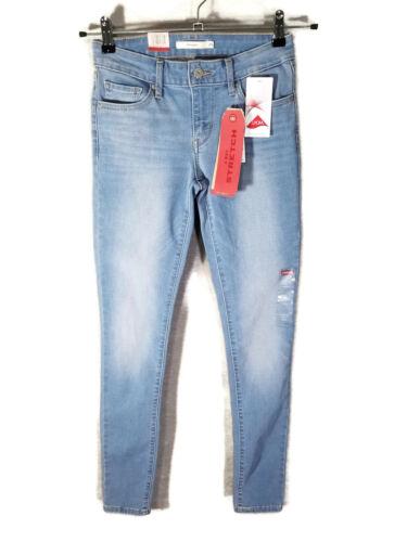 bleu moyen 711 l25 Nwt skinny L30 0 Levi's Jean extensible fXSFq7w