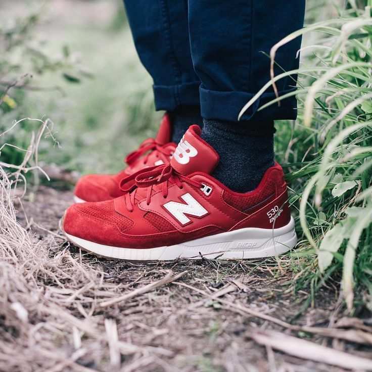 NEW IN BOX  MENS New Balance 530 ELITE Red RUNNING CASUAL SHOES M530AAF SZ 7-12