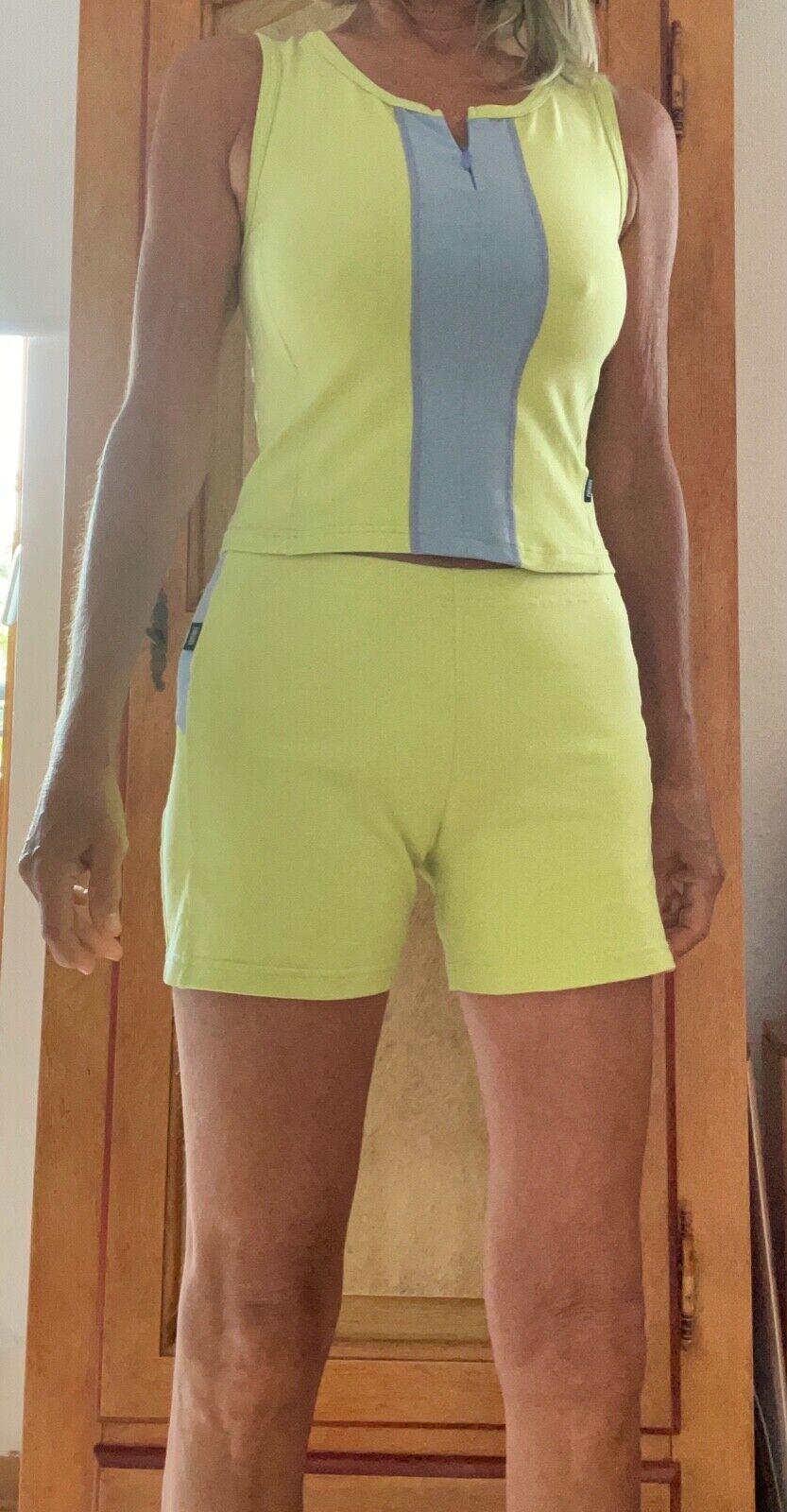 Bogner Fire & Ice Sport Pants Top Size S Light Green Fitness CMP Adidas Nike ODLO