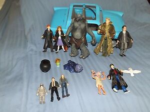 free-uk-postage-harry-potter-toys-figures-car-dobby-lockhart-hermoine-ginny-tom