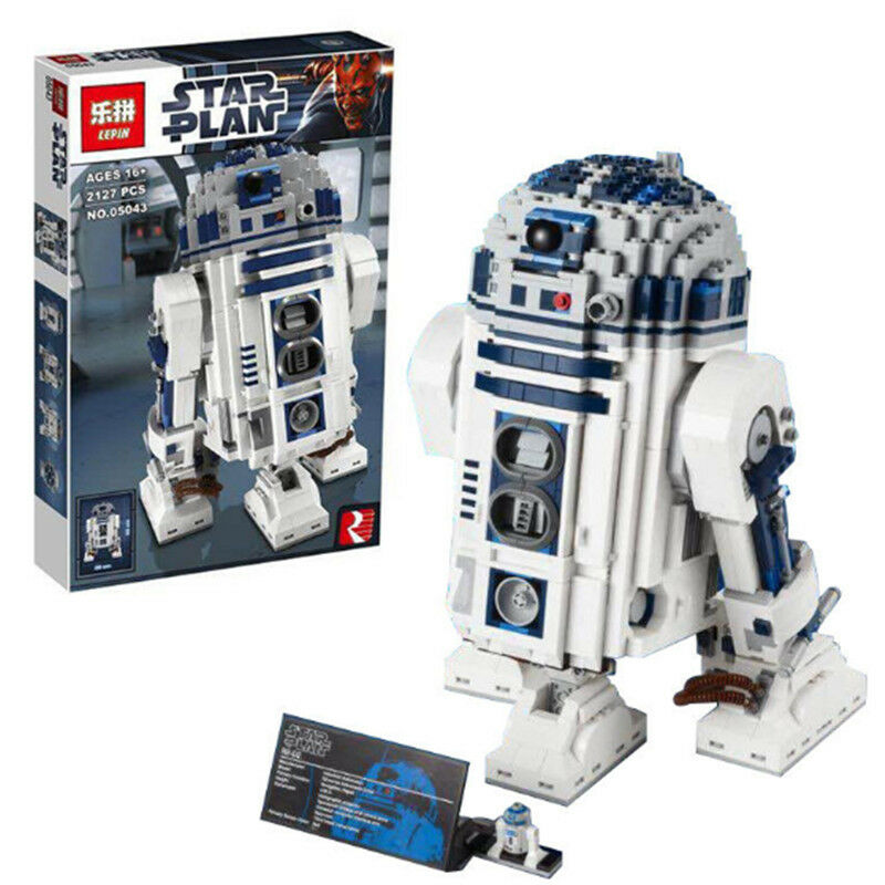 R2-D2 Star Wars Robot - The Force Awakens - 2127pcs - Please msg for color box
