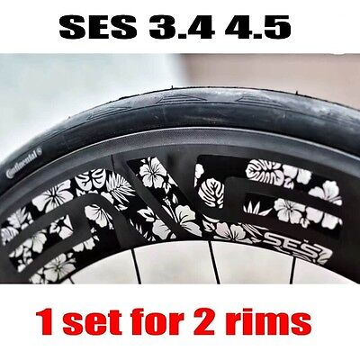 EVNE SES 3.4//4.5 Carbon Wheel Sticker for Cycle rim Decals Replacement 700C