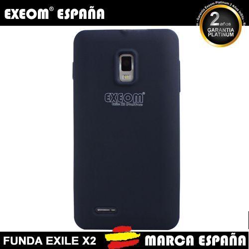 Funda de Silicona para Smartphone Exeom Exile X2 Original Azul -