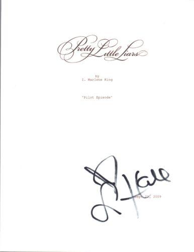 Lucy Hale Signed Autograph PRETTY LITTLE LIARS Pilot Episode Script COA