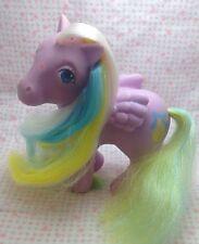 Vintage G1 My Little Pony Ponies Brush N Grow Curly Locks Works Tail Grows