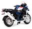 Maisto-1-18-2017-BMW-R1200GS-Bicicletta-Moto-modello-diecast-Toy-PENNINO miniatura 6