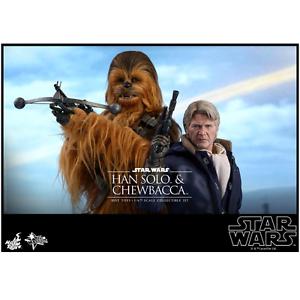heta leksaker - 1  6 skala Movie Masterpiece Series Han Solo & Chewbacca Colleptible