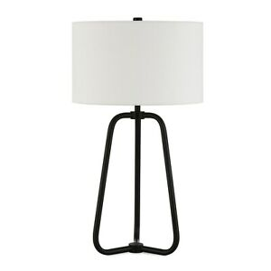 Meyer&Cross Marduk 25-1/2 in. Blackened Bronze Table Lamp