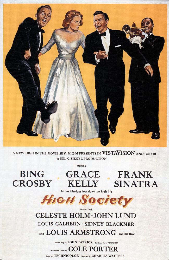 Classic Movie -High Society-- 24 x36  Giclee Print on Canvas