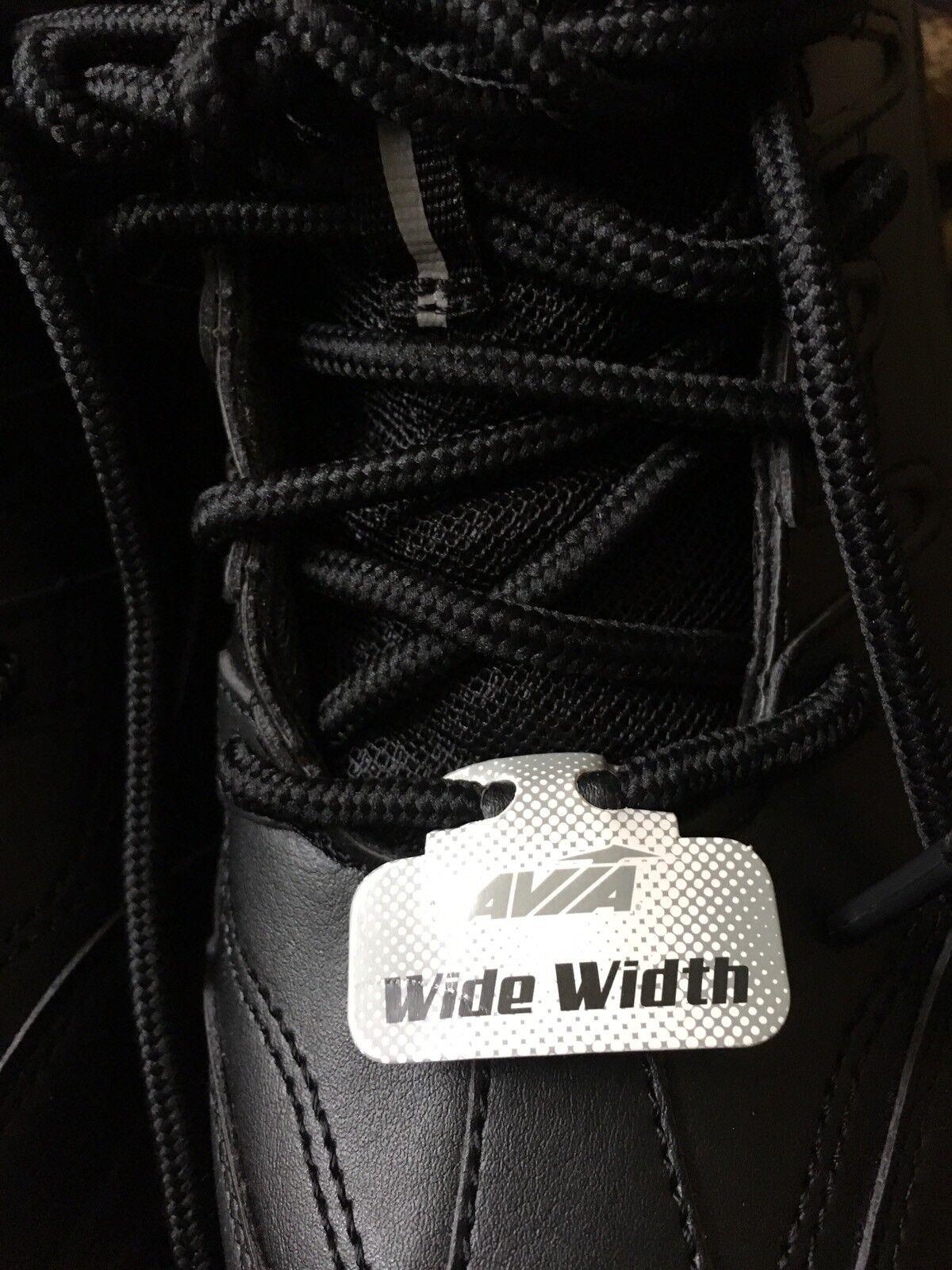 Avia Donna  Walking scarpe Sz 6 Wide scarpe da da da ginnastica nero scarpe 84bd7f