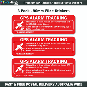 GPS-tracking-car-alarm-warning-decal-sticker-sticks-to-OUTSIDE-of-window-G005