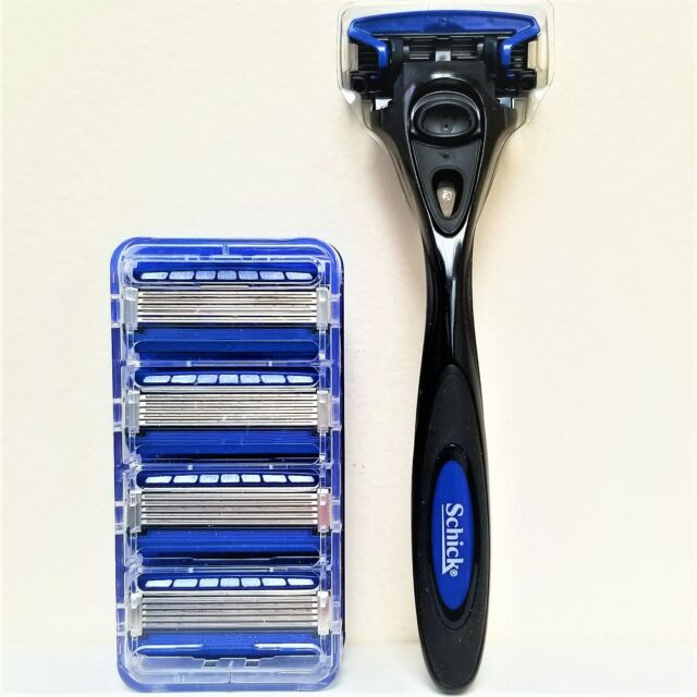 NEW Schick HYDRO5 Starter Pack - 5 REFILLS AND 1 BLACK HANDLE - FREE SHIPPING