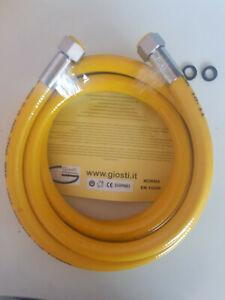 TUBO-CUCINA-FLESSIBILE-GAS-METANO-E-GPL-MT-1-2-3-4-MT-ACCIAIO-INOX-1-2-034-FF