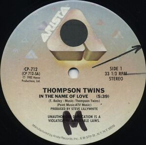 THOMPSON-TWINS-In-The-Name-Of-Love-1982-U-S-3-Track-12inch
