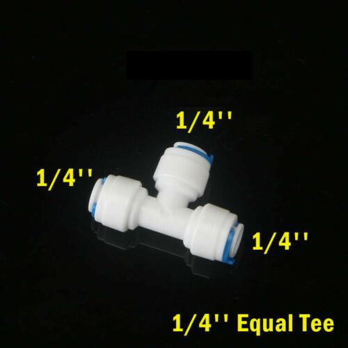 """1//4/"""" 3//8/"""" Speedfit Filtro De Agua Tubería Filtro de Conectores de Grifo Push fit azul"""