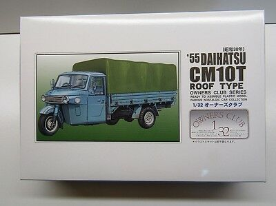 "Cars Model Building Latest Collection Of Arii 1:32 Scale ""owners Club"" '55 Daihatsu Cm10t ""roof"" Model Kit New Kit No 51 Products Are Sold Without Limitations"