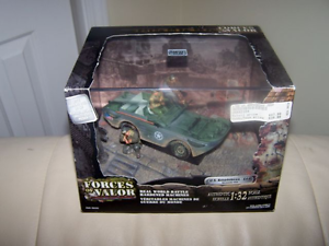 FORCES OF VALOR - U.S. Amphibian- GPA- NORMANDY 1944- RETIRED DIORAMA- MIB