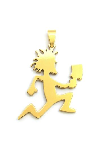 "New ICP Hatchetman Pendant /& 3mm 18/"" 20/"" 24/"" Cuban Chain 14K Gold Plated"