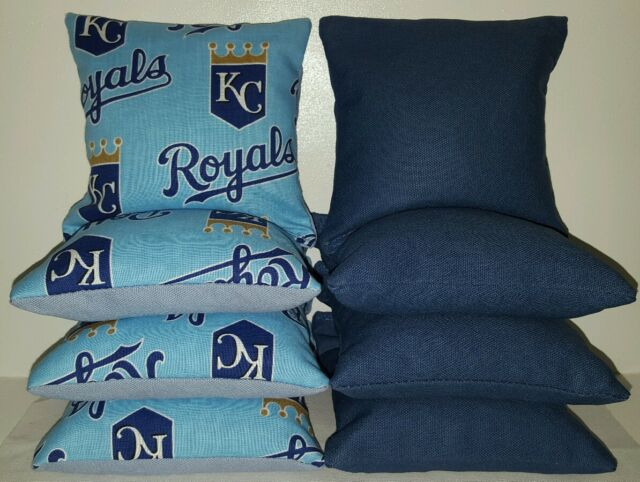 Cornhole Bean Bags Set of 8 ACA Regulation Bags KANSAS CITY ROYALS