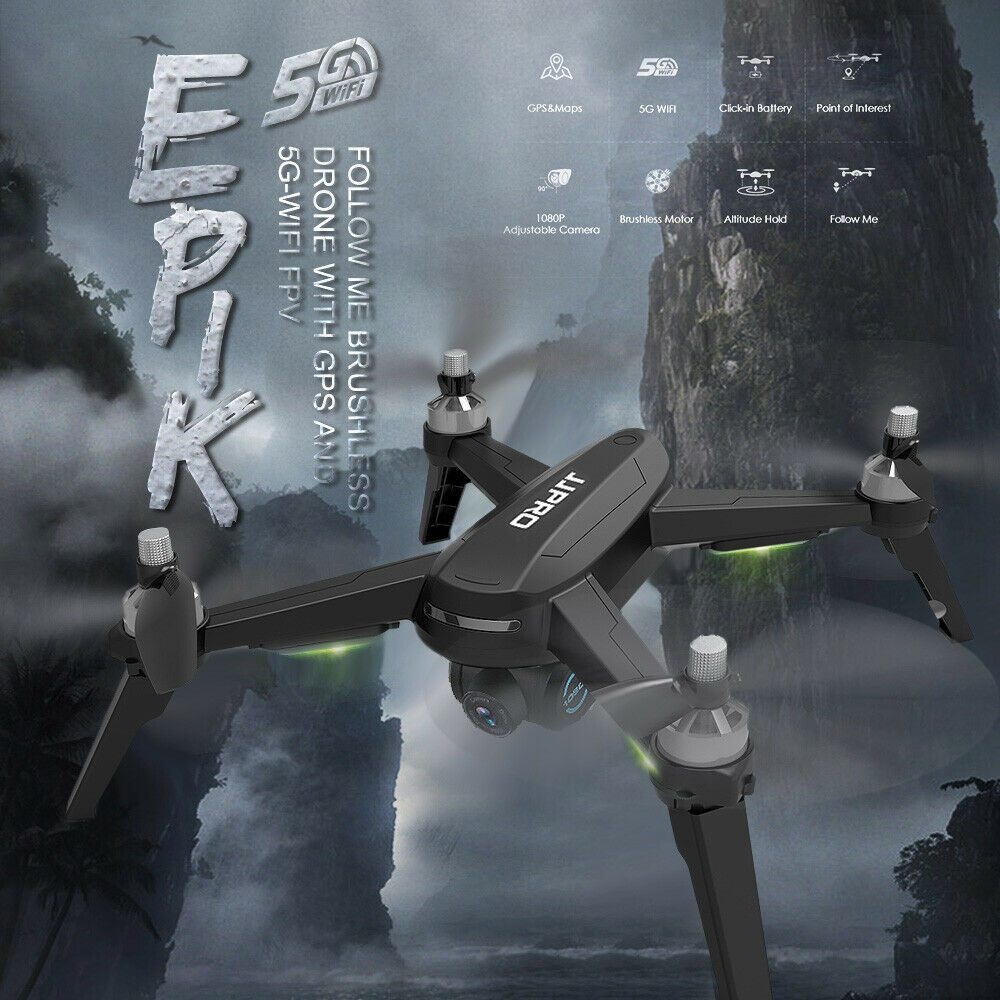 JJR C jjpro x5 epica RC Drone con teletelecamera  1080p 5g WIFI GPS Brushless Motore app  risparmiare fino all'80%