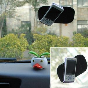 2X-Black-Car-Anti-Slip-Dash-Non-DashBoard-Pad-Mat-Sticky-Holder-Mobile-Phone-Key