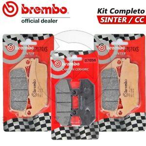 Capable Kit Pastiglie Freno Brembo Anteriore Posteriore Suzuki Burgman Executive 650